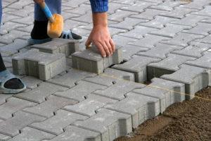Ремонт тротуарной плитки